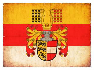 Grunge-Flagge Kärnten (Österreich)