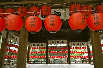 近江八幡 夏祭の提灯