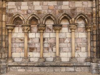 5 stone arches