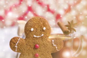 Weihnachten, Lebkuchenmann, Lebkuchen,