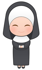 Nuns cartoon