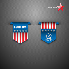American Labor Day designs.