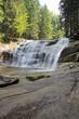 Leinwanddruck Bild - Mummelfall, Wasserfall in Harrachov