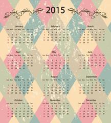 calendar 2015 design
