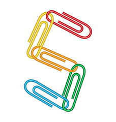 letter s with clips