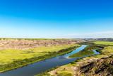 Red Deer River at the candain badlands