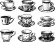 collection of the teacups - 69533533