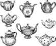 collection of the teapots - 69533563