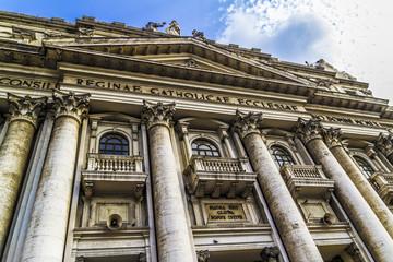 Church of Capodimonte, Naples, Italy