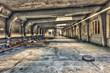 Abandoned underground parking garage