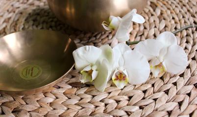 Klangschalen Orchidee 2