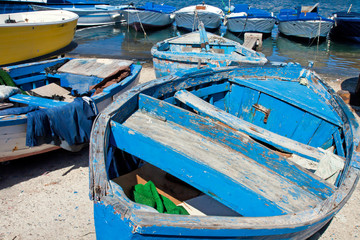 old italian rowboats