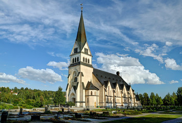 Church of Vindeln - Lapland, Sweden