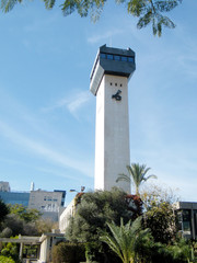 Bar-Ilan University tower of Observatory 2010