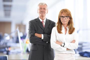 Successfull business team
