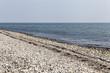 canvas print picture - Menschenleerer Strand an der Ostsee in Schleswig-Holstein,Deutsc