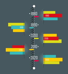 Abstract 3D vector illustration Infographic.