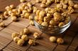 canvas print picture - a lot of golden caramel corn