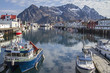 canvas print picture - Henningsvaer
