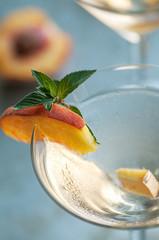 Peach Martinis