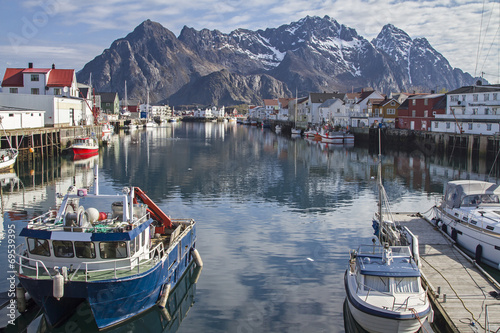 canvas print picture Henningsvaer
