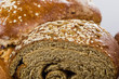 Close up of fresh whole wheat bread