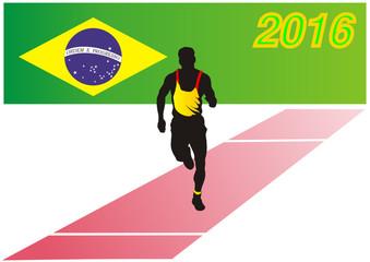 Sportfest 2016 in Rio de Janeiro - Brasilien - Marathon
