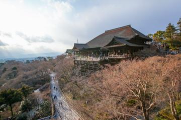Kiyomizu-dera Temple at day light