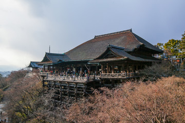 Kiyomizu-dera Temple at day light