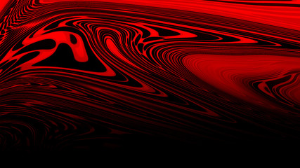 Abstract red liquid background