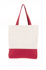 shopping bag made with woven fabric