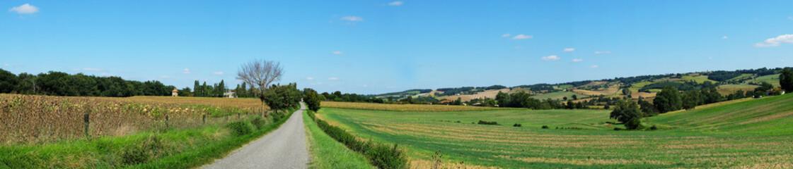 paysage du Gers, France