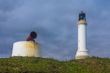 Foghorn and Lighthouse
