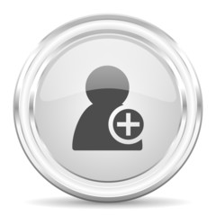 add contact internet icon