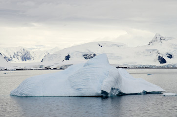 Antarctica - Iceberg And Landscape - Global Warming