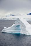 Antarctica - Non-Tabular Iceberg - Pinnacle Shaped Iceberg