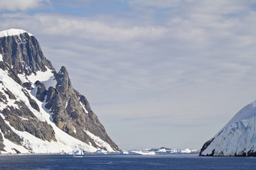 Antarctica - Coastline Of Antarctica With Ice Formations