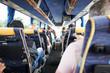 Leinwanddruck Bild - busreise