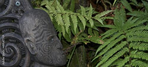 Keuken foto achterwand Nieuw Zeeland art Maori - Nouvelle Zélande