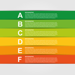 Colorful infographic. Design element.