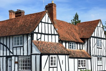 Large english timbered house