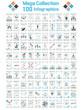 MEGA COLLECTIONS 100 INFOGRAPHICS CLOUD TIMELINE BUSINNESSMAN