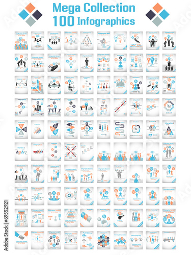 MEGA COLLECTIONS 100 INFOGRAPHICS CLOUD TIMELINE BUSINNESSMAN - 69552921