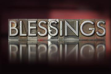 Blessings Letterpress