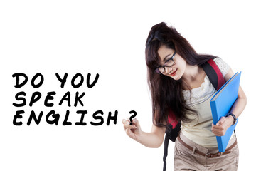 Learning english language