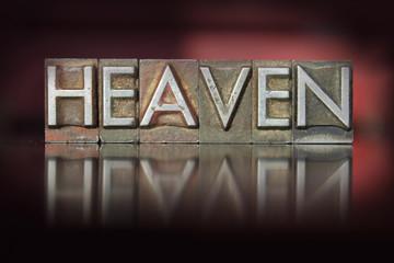 Heaven Letterpress
