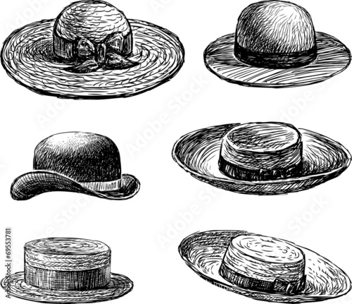 women's hats - 69553781