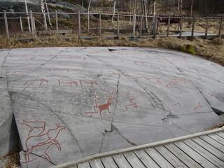 ノルウェーのアルタの岩絵