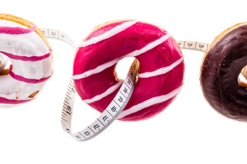 Doughnuts and measuring tape
