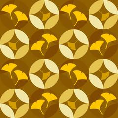 銀杏のパターン